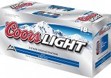 Coors Light (12oz Can - 1/18)